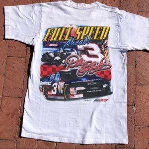 American Vintage Shirts - Vintage Dale Earnhart NASCAR Racing single stitch